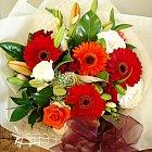 Gerberas bouquet (around $45)